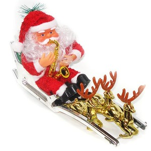 best-selling reindeer christmas gifts fashionable plastic flying santa claus toy