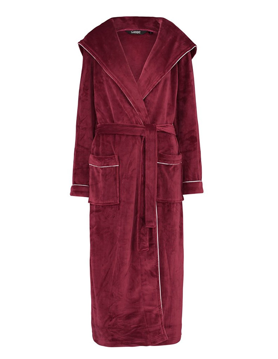 327d3d745d13 Get Quotations · Slenderella GL8746 Women s Rasberry Red Long Sleeve Dressing  Gown Robe