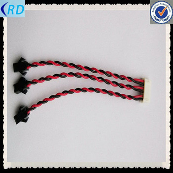 Jst Connector Twisted Wire Cable Waterproof Multi Core Fan Power ...