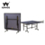 High quality indoor portable folding ping pong table tennis table set with wheels