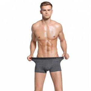 Soft Modal Spandex Sexy Men Underwear Boxer Briefs Solid Boxer Brief on sale for Male