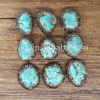Wholesale Natural turquoise handmade jewelry natural stones for jewelry making supplies WT-NP012