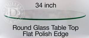 Buy 34 Inch Round Glass Table Top 1 2 Thick Beveled Edge Annealed Glass In Cheap Price On Alibaba Com