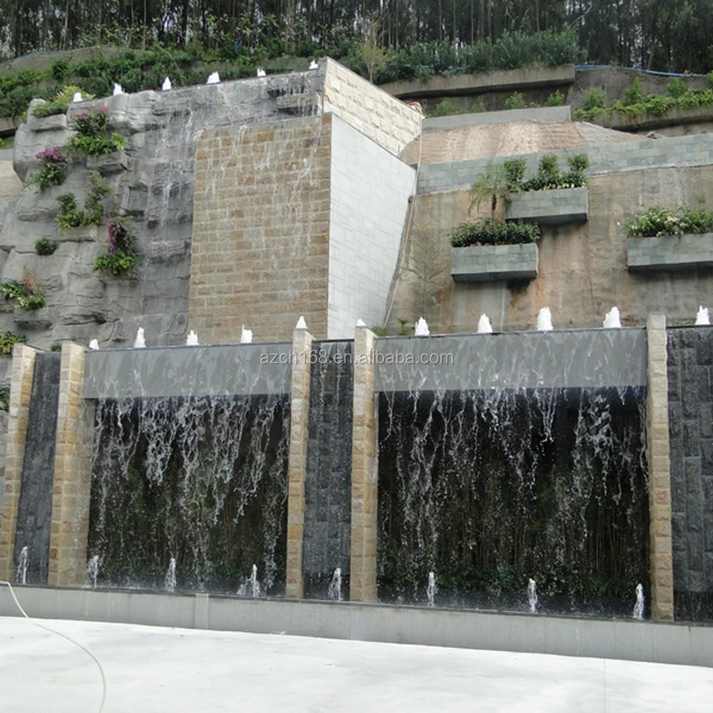 Fabrica de alimentaci n outdoor piedra fuente de pared - Fuentes de pared de piedra ...