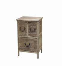 competitive price antique wooden night stand/bedside table with drawer