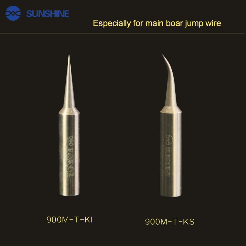 SUNSHINE SS-900M-T-KI/KS/KK special welding jump wire for solder iron tips