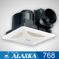 6 inch plastic bathroom ceiling mounted ventilation exhaust fan 768 and 768B