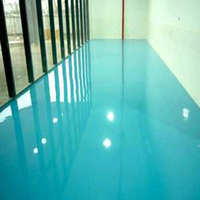 Epoxy urethane floor enamel paint