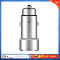High quality usb charger, dual port xiaomi usb car charger for smart cell phone car charger USB