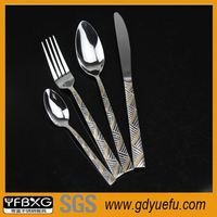 SS410 or SS430 dinner sets for cheap stainless steel steak knives set