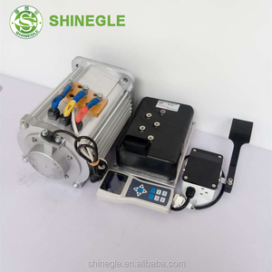 SHINEGLE 10kw electric three phase motor car electric engine kits 3kw-15kw High Speed EV AC Driving Motor Controller