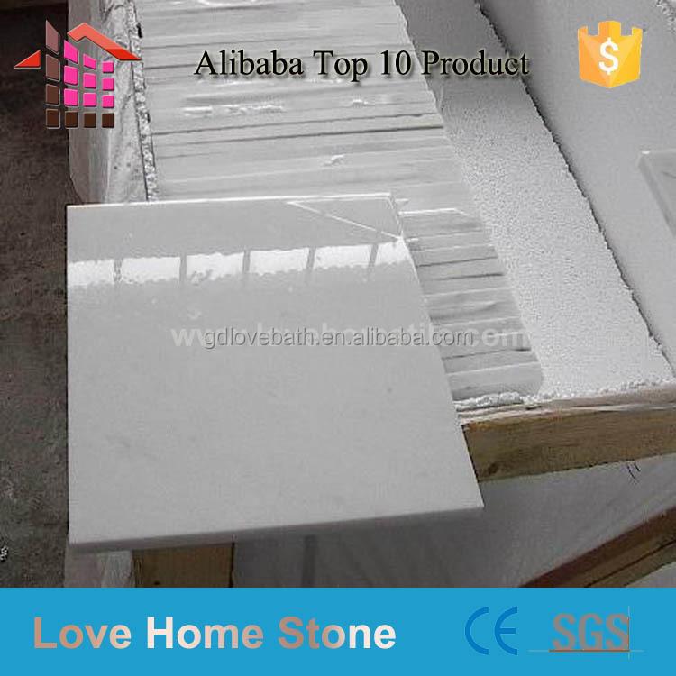 Pure White Stone Floor Tile Marble