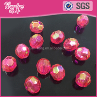 China Bead Manufacturers Faceted Cut AB Rhinestone Beads