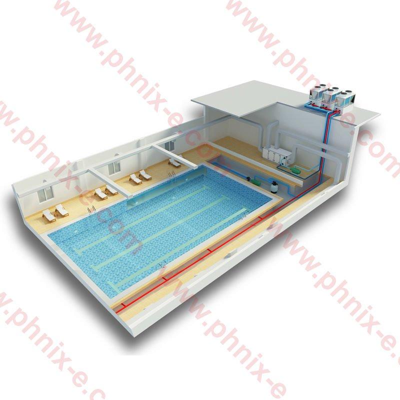 Phnix 2015 Expolazer Brand New Pioneer Swimming Pool Heat