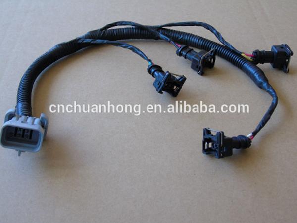 87-92 350 tpi camaro corvette firebird fuel ignition coil wiring harness  pigtail lt1 tpi