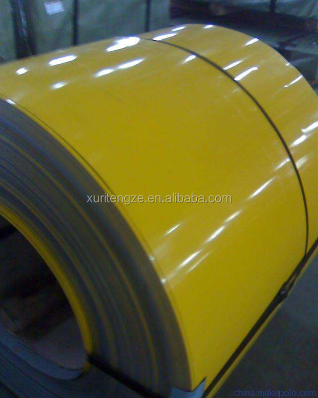 Hot selling COLOUR COATED STEEL/PREPAINED STEEL COIL FROM CHINA MAIN LAND WITH LOW PRICE