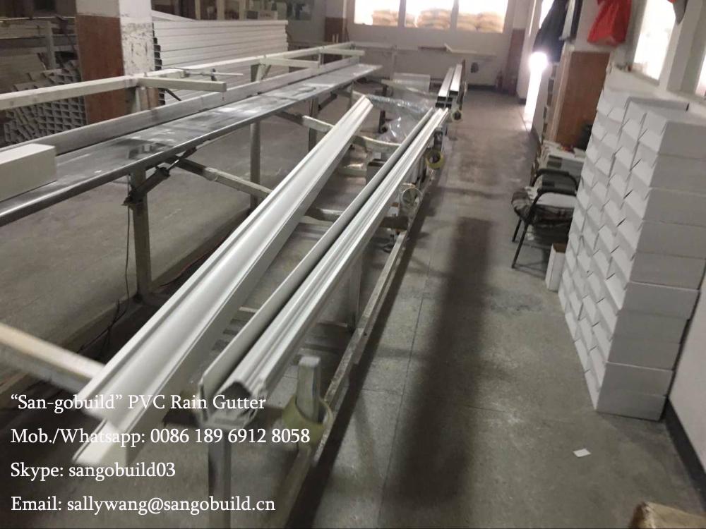 Philippines Vinyl Roof Rain Gutters Malaysia Pvc Plastic