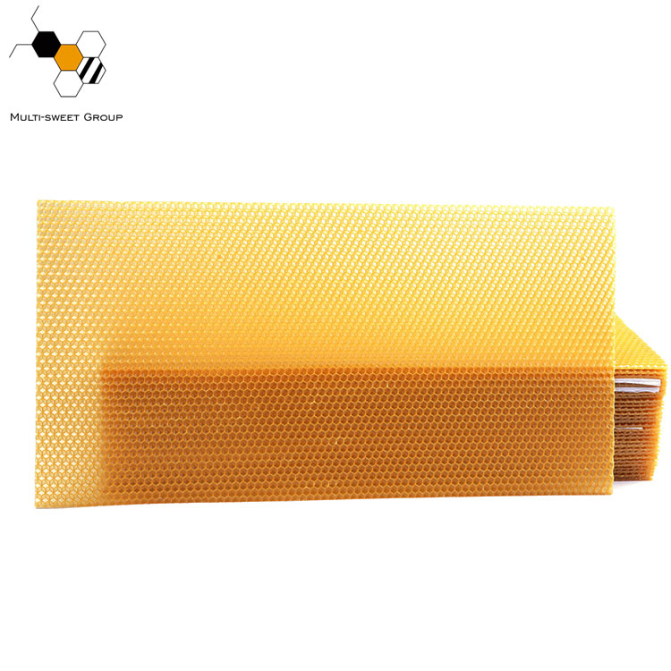 Natural Beekeeping Beeswax Foundation Sheet Honey comb Beeswax Foundation