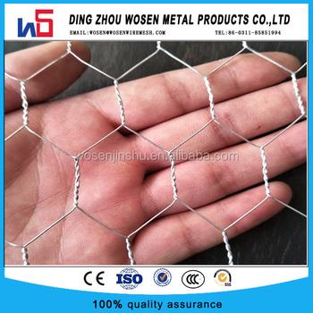 200m 60g Hot Dip Galvanized Reinforcement Hexagonal Wire Mesh For ...