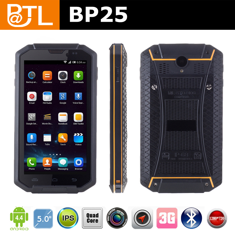 WDF0963 BATL BP25 dual sim wireless charging optional 5inch rugged phone without VHF UHF for tough working environment