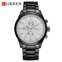 Часы CURREN Мужские, спортивные, кварцевые, водонепроницаемые, из нержавеющей стали(Китай)