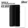 High Quality !! 0.33mm 9H full cover transparent Tempered glass screen protector for samsung galaxy note 8