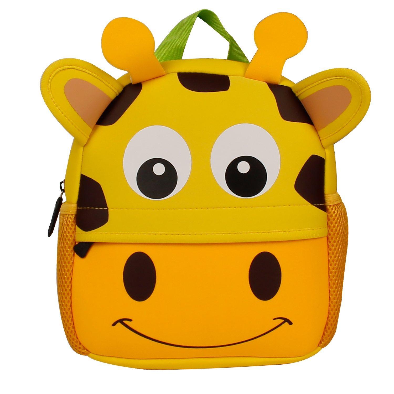 e1d3f17a41 Manleno Kids Backpack Cute 3D Animal Baby Boys Girls Toddler Backpack for  Preschool