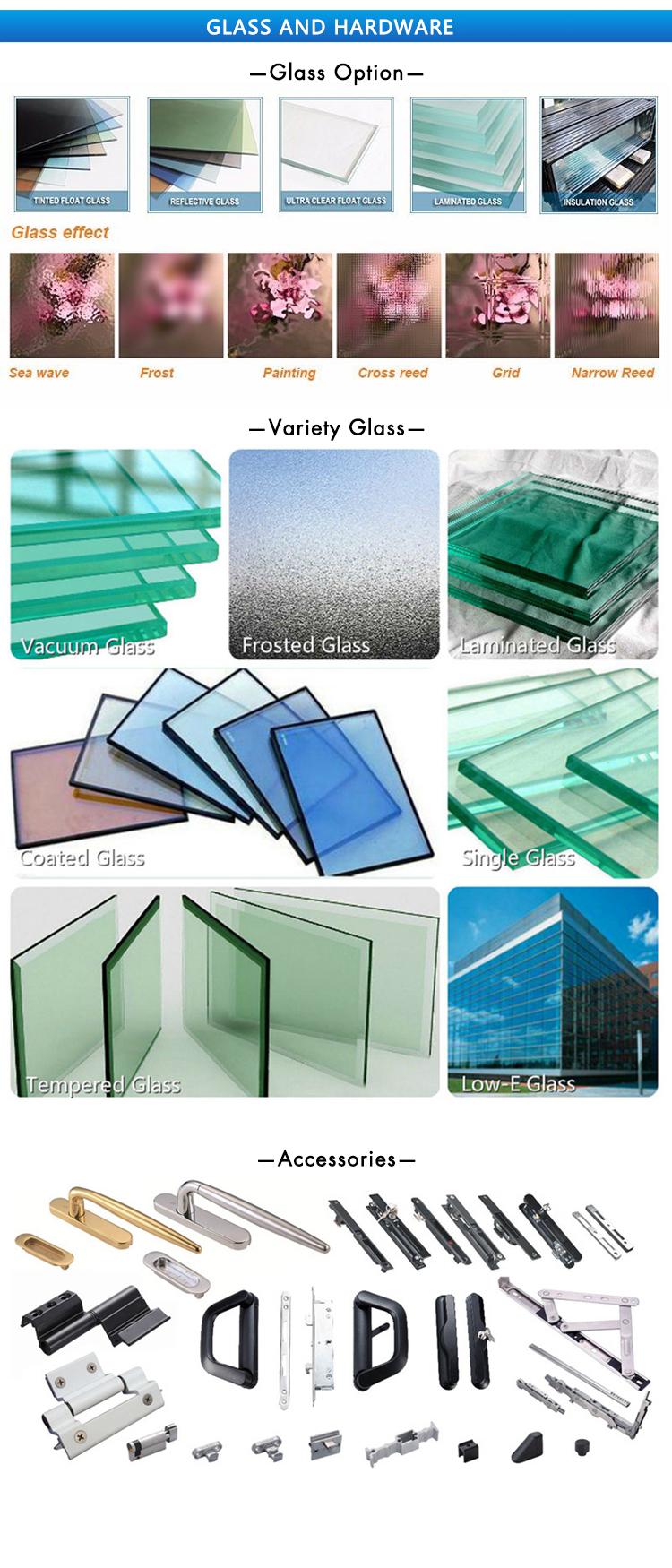Super Delgado marco de aluminio de perfil abatible puerta dormitorio y cocina