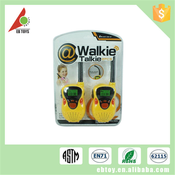 Plastic colorful electric interphone mobile phone funny walkie talkie toys for kids