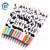 Office School cheap cow 12 color promotional 0.38mm gel pen cartoon and pen cute