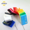 JINBAO factory wholesale 4x8 3mm color clear and transparent plastic cast acrylic sheet price for decorative