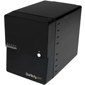 "Startech.Com Usb 3.0 / Esata 4-Bay 3.5In Sata Iii Hard Drive Enclosure W/ Built-In Hdd Fan & Uasp - Sata 6Gbps - 4 X Total Bay - 4 X 3.5"" Bay - Serial Ata/600 Controller - Usb 3.0, Esata ""Product Category: Accessories/Drive Cabinets"""