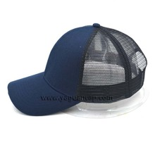 cheap trucker mesh cap blank 6-panel baseball cap