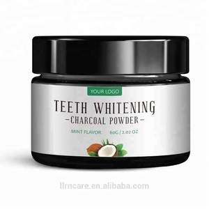 OEM Private Label Natural Activated Coconut Charcoal Stain Remover FDA CE Approved Teeth Whitening Powder