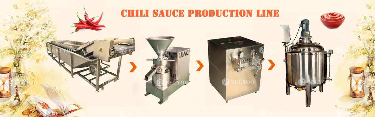 food grade chili sauce making machines