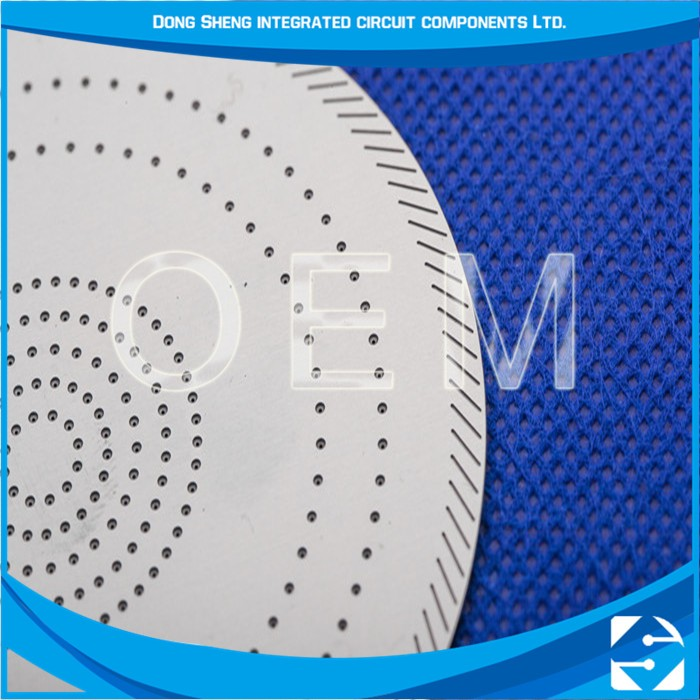 Factory Oem Can Be Customized Photo Chemical Etching Shower Head Combo