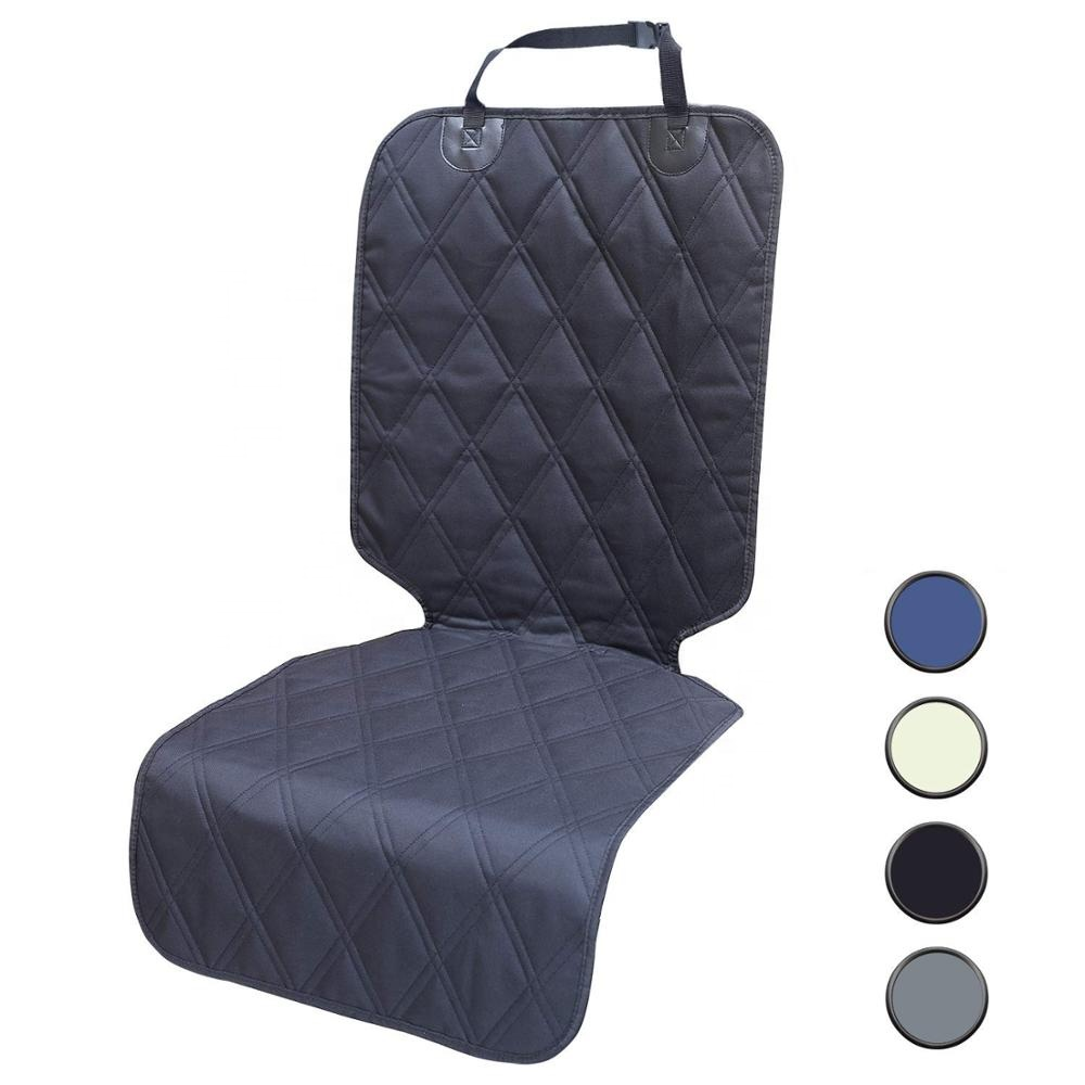 Huisdier Front Seat Cover Antislip Rubber Backing met Ankers