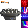 Professional night club show lighting 8X10W RGBW 4in1 LED Moving Head spider led beam dj equipment disco light prices