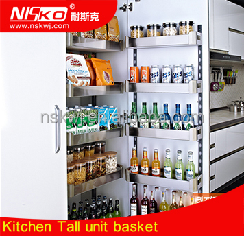 In Cabinets Installation Position and Cabinet Pantry Organizers Kitchen Storage Type Basket With Slide