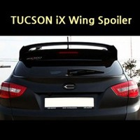 Roof Glass Wing Spoiler Painted For Hyundai Tucson (ix35) 11+ ...