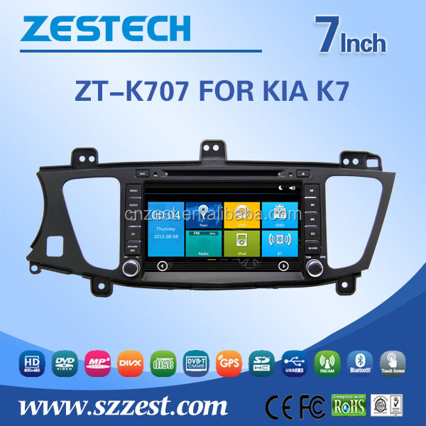 car gps for Kia Cadenza K7 car navigation with DVD Radio RDS bluetooth 3G car gps navigation