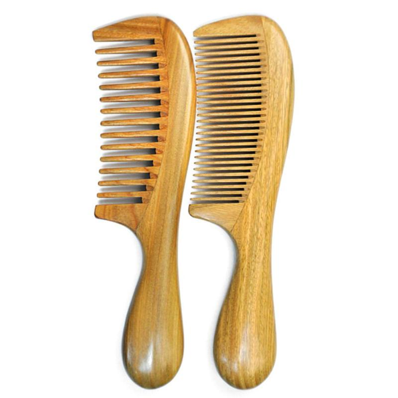 1 Pc High Quality Handmade Natural Sandalwood Wooden Comb Health Care Head Messager Hair Comb Hair Brush For Women Men Z3