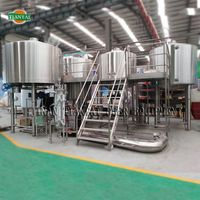 5000L industrial brewing equipment/draught beer production equipment