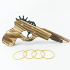 high quality cheap kid toy wooden toy gun