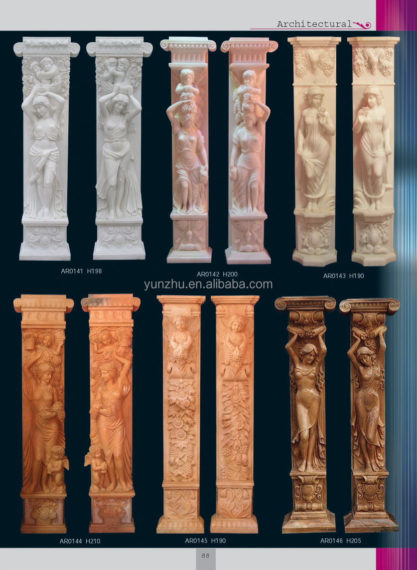 Decorative Interior Columns Home Decorative Stone Carved Greek Columns For Interior Design