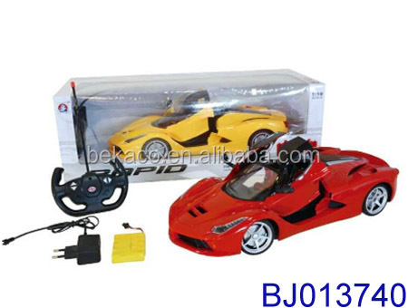 2015 Hot new car toy 1 10 scale model rc car kit 5ch remote control sport car