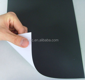 rubber magnet with self-adhesive;Adhesive backed magnetic rubber sheet;Flexible adhesive magnet sheet