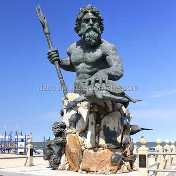 Greek God Bronze Poseidon Statue For Beach Decor Buy Poseidon Poseidon Statue Nude Greek Statues Product On Alibaba Com