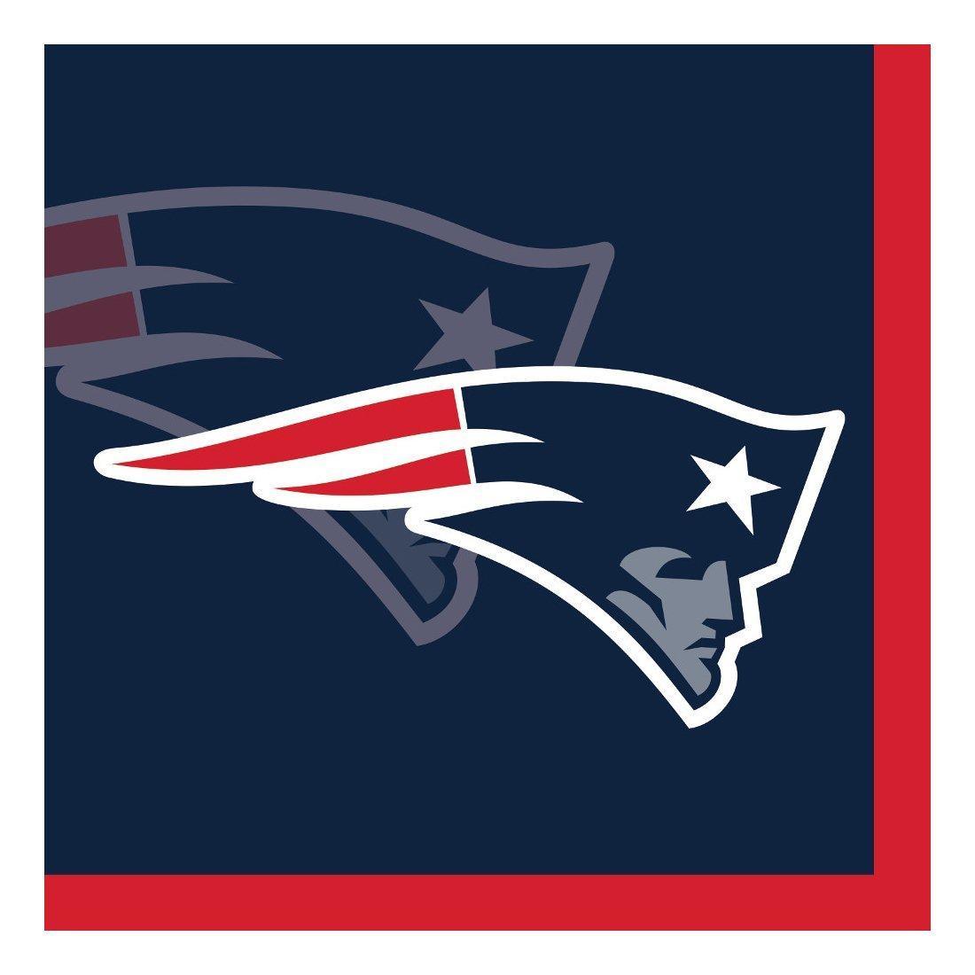 Creative Converting 192-Count New England Patriots Beverage Napkins