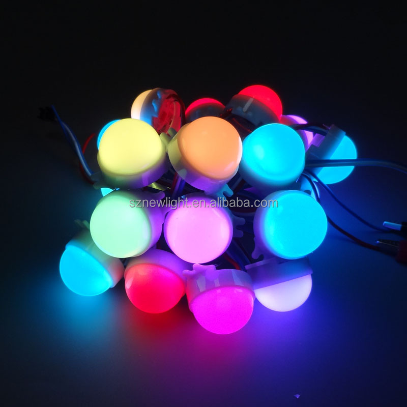 LED String Wire String Lights, Multi Color, Decorative LED Christmas ball Lights For Holiday, Wedding